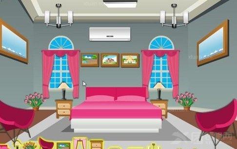 粉色女生卧室设计-打造唯美公主房