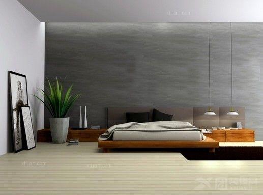 卧室装修 室内装饰设计 家居陈设与绿化      把自然景色,花草树木,甚