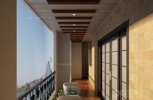 阳台吊顶材料:塑钢扣板,pvc扣板,铝扣板,集成吊顶