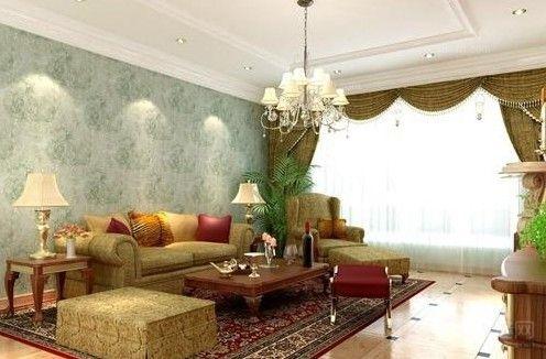 室内墙面装饰材料及效果图图片