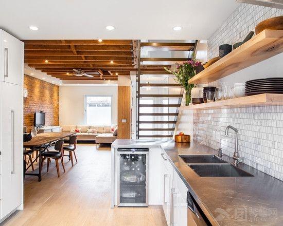 装饰装修木制品工程 2014厨房装修效果图图片