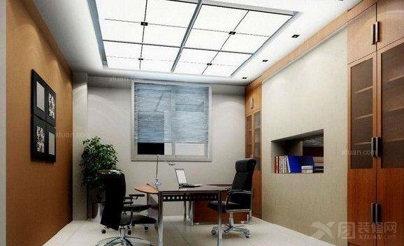单间办公室装修效果图高清图片