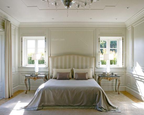 卧室插花的基本概念 2014巴洛克卧室装修效果图