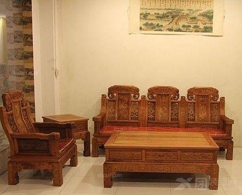 缅甸花梨木家具图片和价格