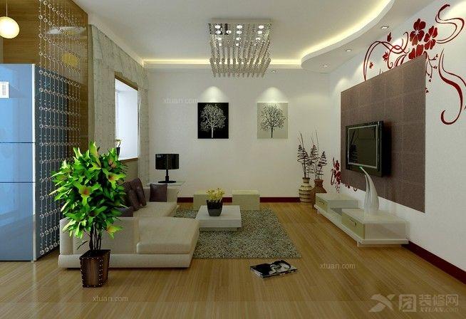 家庭装修应如何准备  这里以普通的二室一厅,5万元的装潢费用(中档