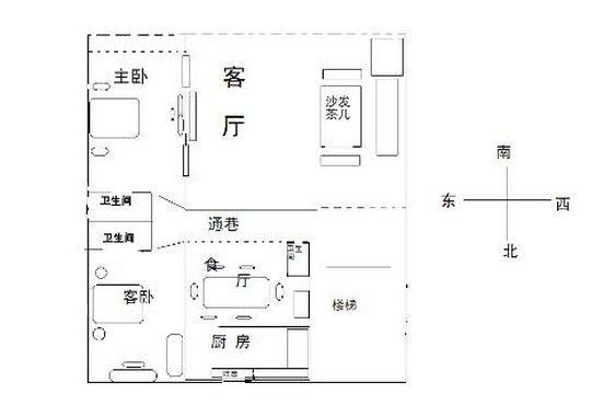 目前住宅透视效果图普遍采用计算机绘制,其特点是透视效果逼真.