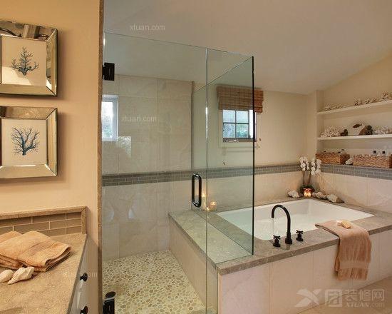 现代风格的浴室装修怎么选材