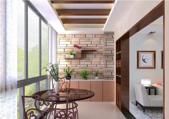 上海装修设计 上海小户型阳台设计攻略  无论小阳台与卧室还是与厨房