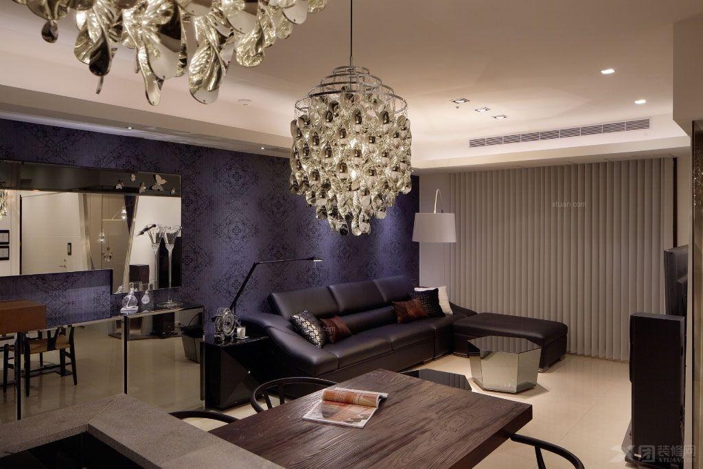 48平小户型装修实例_一室一厅的现代装修