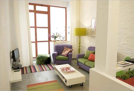 客厅配色方案解析,炫富不如炫色彩