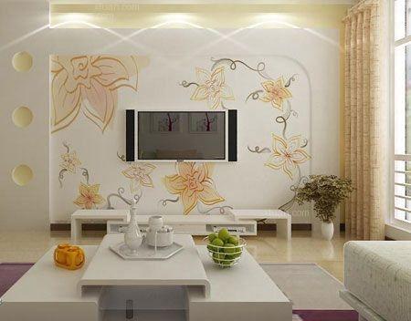 电视背景墙颜色风水