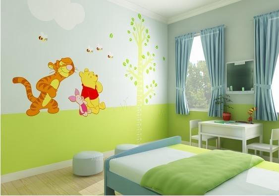 装修儿童房手绘墙要注意什么