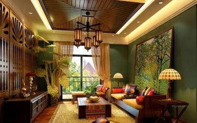 东南亚风格的装修效果图