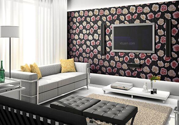 北欧风格壁纸装修效果图图片