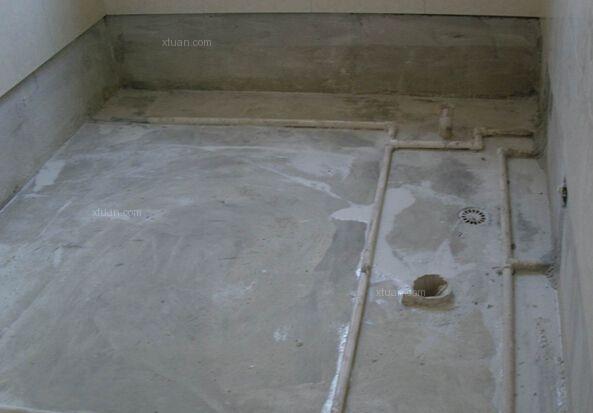 卫生间防水验收第三步 墙内水管防水验收