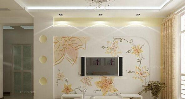 如何制作手绘墙纸