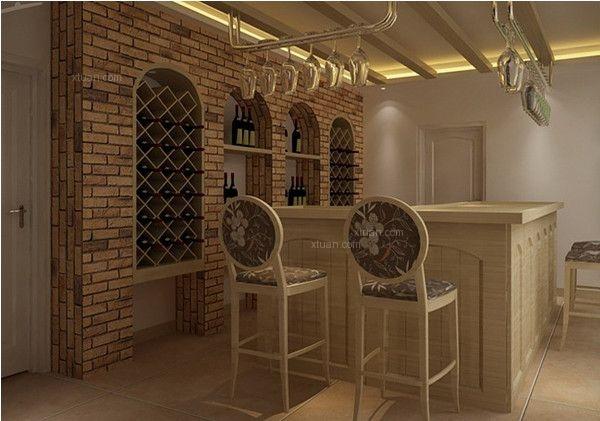 家庭欧式吧台装修效果图图片