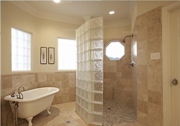 卫生间隔断间卫生间隔断墙图片9