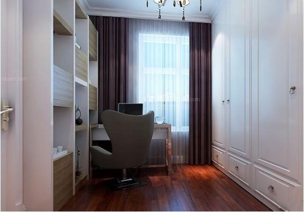 衣帽间与书房一体一般需要多少个方?图片