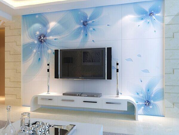 瓷砖电视背景墙装修效果图