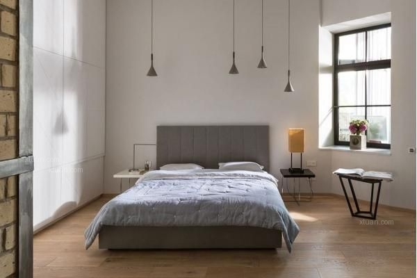 工业风卧室装修效果图