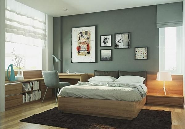 书房改卧室装修效果图