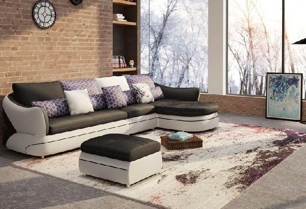 简欧风格沙发效果图图片