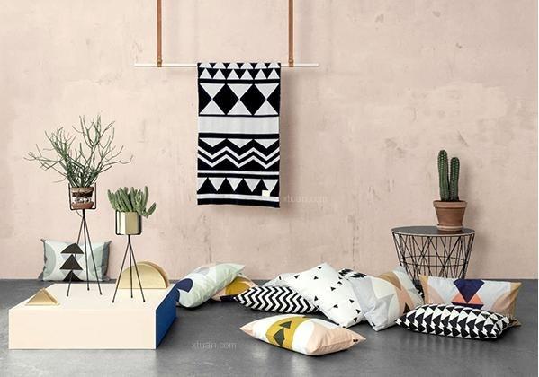 北欧风格壁纸效果图赏析图片