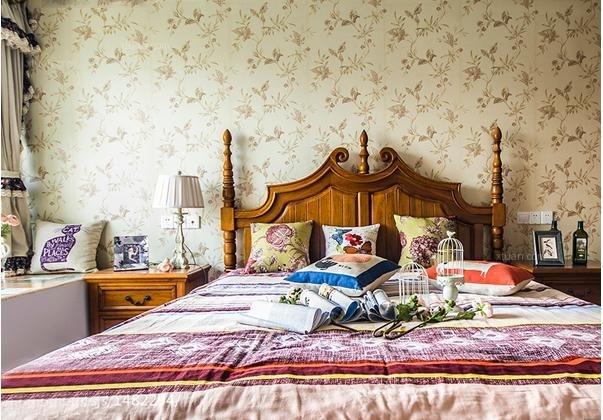 墙纸,在不经意间流露出一种自然闲适的气息,与美式风格的舒适自然气息图片