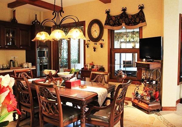 美式田园风格家具效果图图片