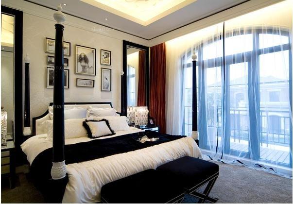 北欧风格的卧室颜色怎么搭配图片