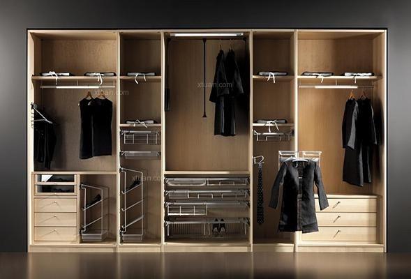 分享四种超实用的衣柜布局设计图片