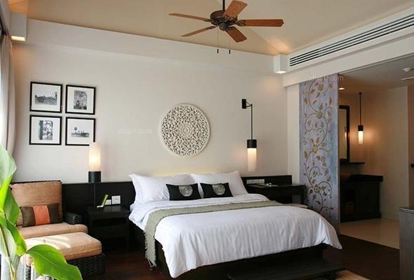 四,泰国装修风格之简单卧室设计特点