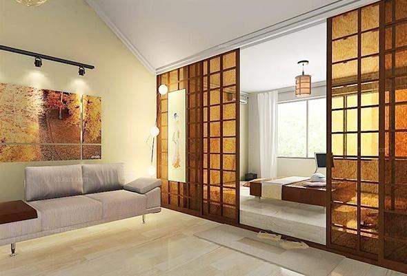 淄博装修公司-不同类型的阳台榻榻米设计效果图图片