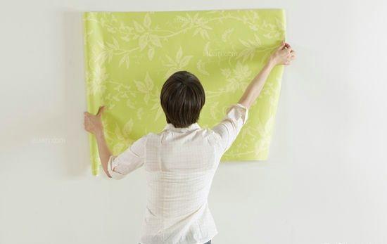 贴壁纸的正确方法与步骤