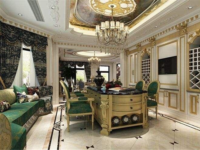 巴洛克风格室内空间以及家具特点