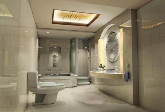 卫生间最佳风水位置-x团装修网图片