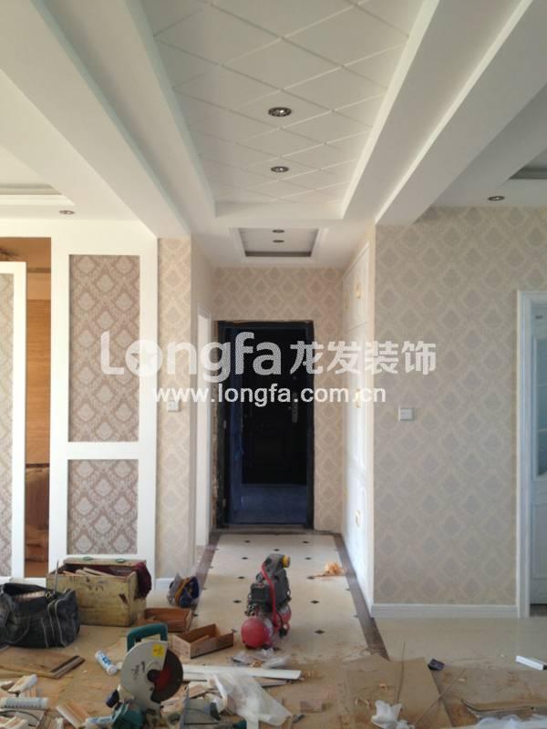 名士豪庭130平米三室两厅一卫——已结束——施工工地