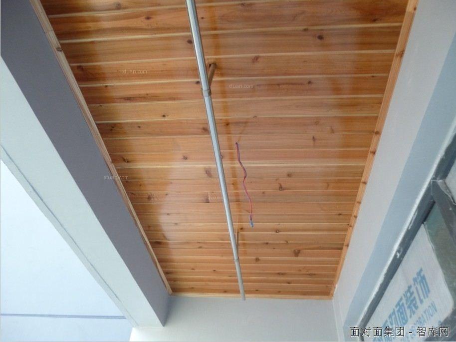 面对面装饰木工吊顶工艺装修效果图