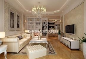 五华区西城时代123平方米简欧风格C1户型8.5万元