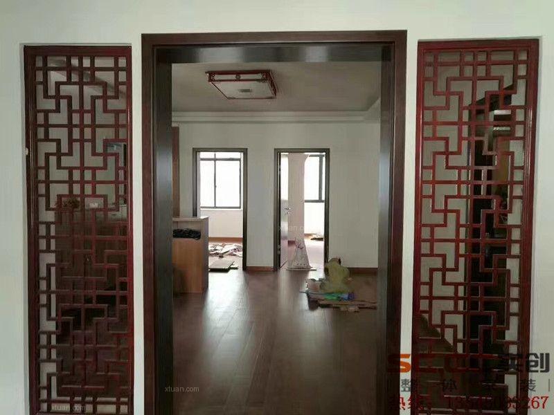 【实创装饰】武大旧房改造100平三居室简中全包完工图