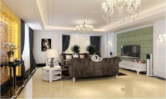 金上海湾四居室装修
