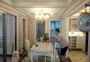 【武汉实创装饰】葛洲坝世纪花园三居室125平欧式风格全包完