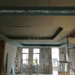 联发瞰青别墅在建工地丨天古装饰泥木作施工现场