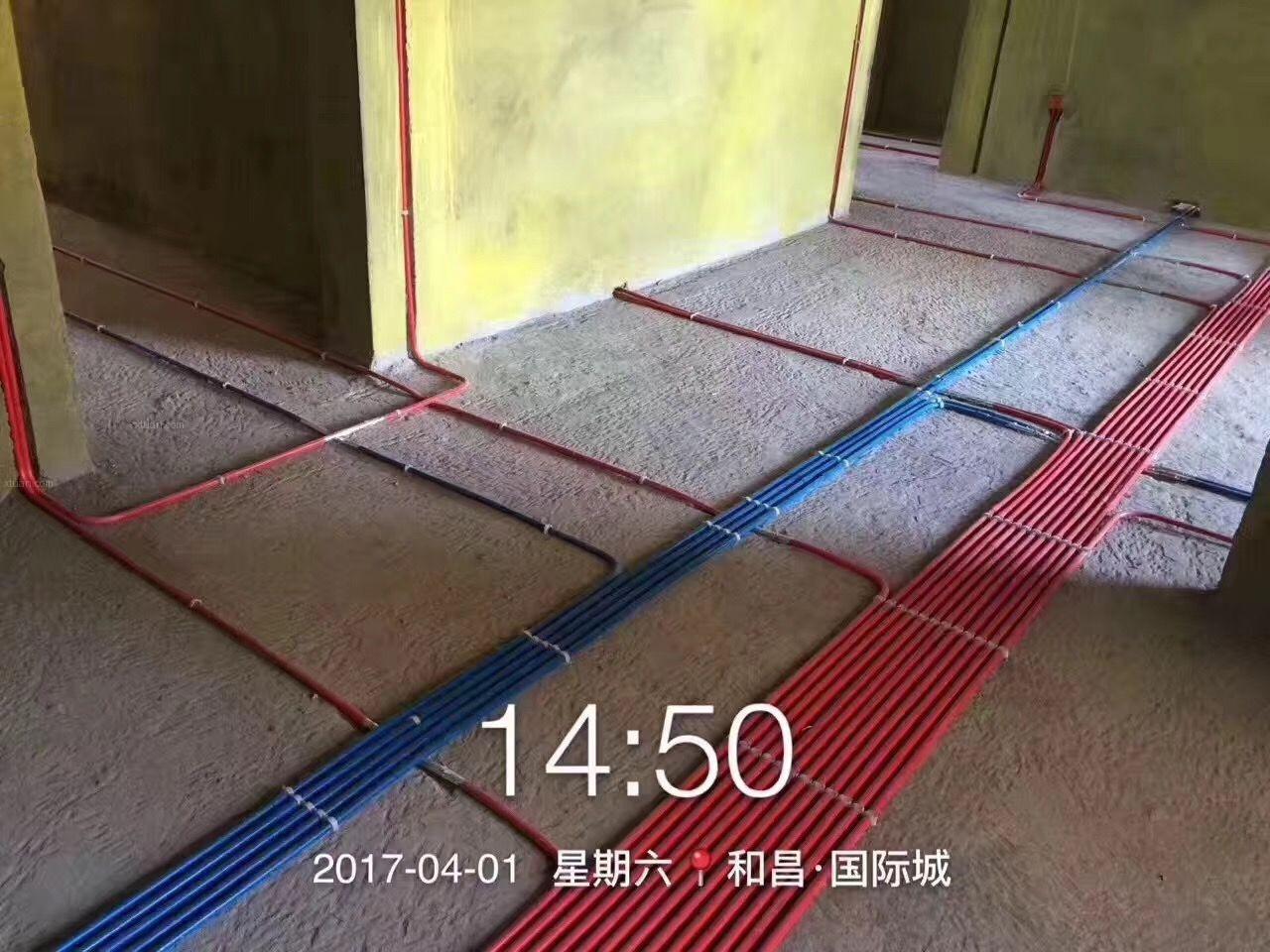 十堰名鼎装饰和昌国际城水电完工