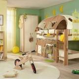 儿童房风水之窗帘的选择