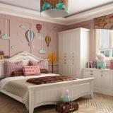儿童房背景墙的装修设计原则以及色彩搭配