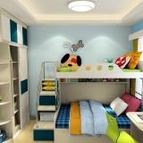 家有一儿一女的儿童房装修效果图欣赏
