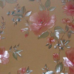 丝绸质感的柔美墙纸|欧式田园大花