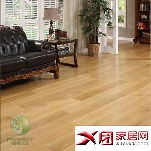 保得利 美国白橡木 三层实木复合地板茶褐色2 3.0mmm